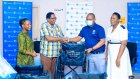 Stanbic Bank Donates to Ocean Road Cancer Institute in Dar es Salaam and Lemara Primary School in Arusha