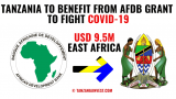 Tanzania to Benefit from AfDB Grants to Fight Covid-19